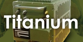 TITANIUM frequency jamming system