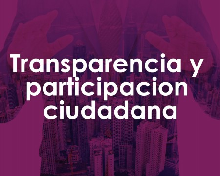 Transparency and citizen participation