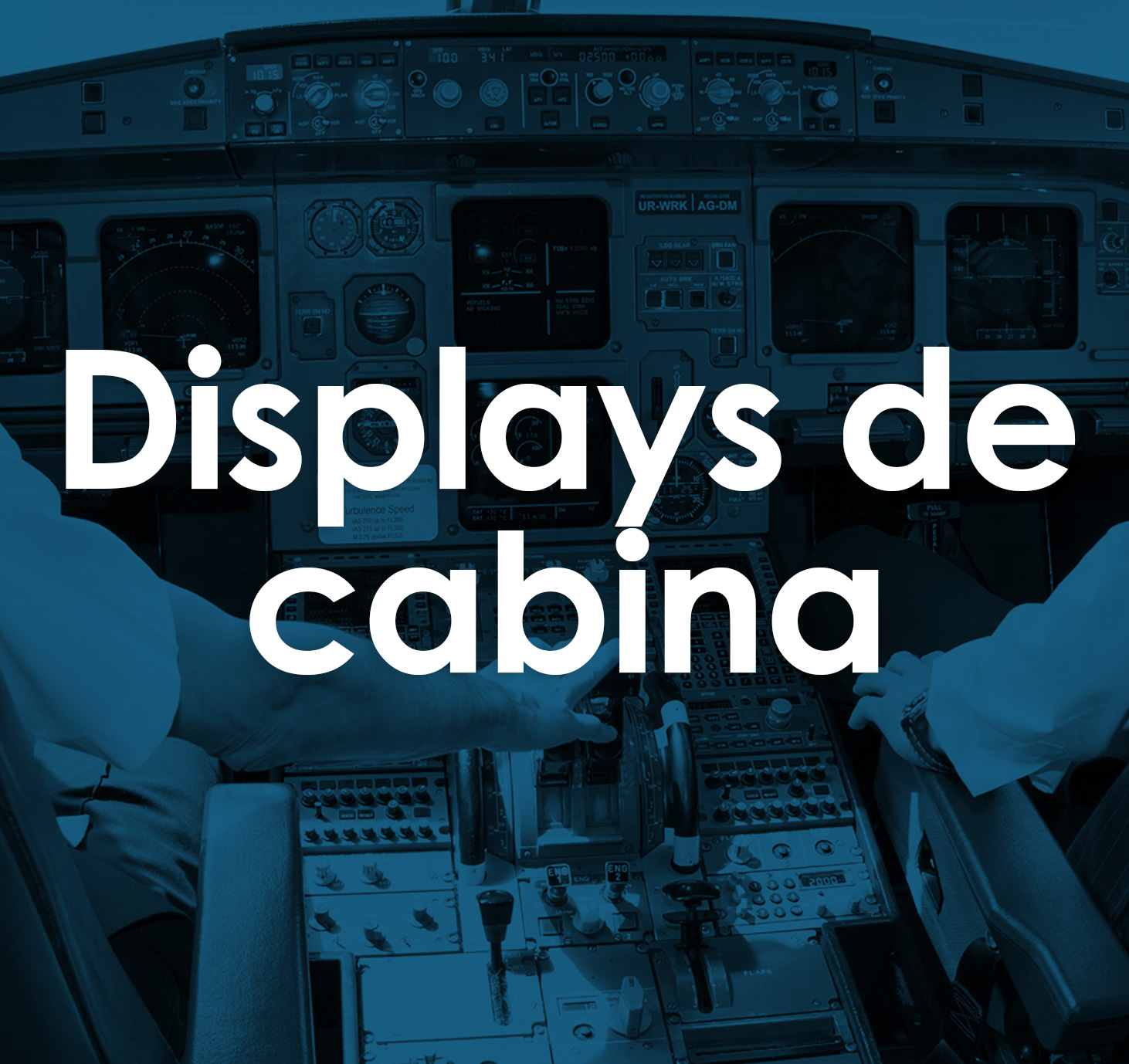 Displays de cabina